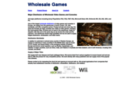 wholesalegame.co.uk