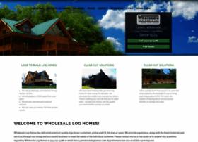 wholesaleloghomes.com