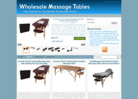 wholesalemassagetables.com