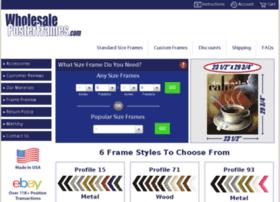 wholesaleposterframes.com