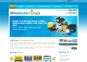 wholesalepumps.com.au