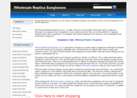 wholesalereplicasunglasses.com