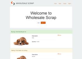 wholesalescrap.herokuapp.com