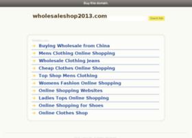 wholesaleshop2013.com