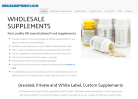 wholesalesupplements.co.uk