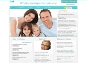 wholesalesupplements.org
