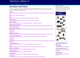 wholesalesupplies4u.co.uk