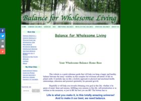 wholesomebalance.com