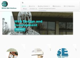 wholewebsolutions.com