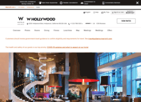 whollywoodhotel.com