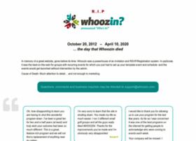 whoozin.com