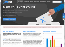 whoshallivotefor.com