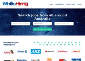 whoshiring.com.au