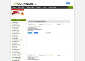 whosms.com