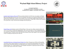 whshistoryproject.org
