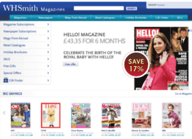 whsmithmagazines.co.uk
