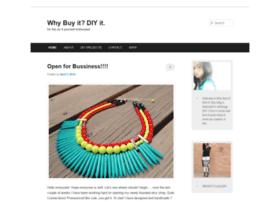whybuyitdiyit.wordpress.com