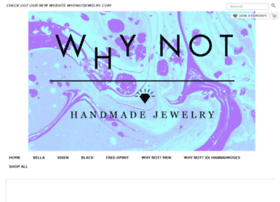 whynotjewelry.storenvy.com