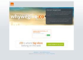 whywegive.co
