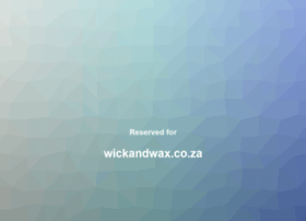 wickandwax.co.za
