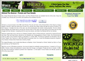 wickedthemusicaltickets.org