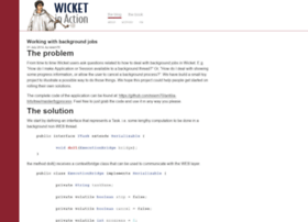 wicketinaction.com
