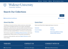 widenerarchives.org