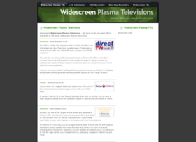 widescreenplasmatelevisions.co.uk