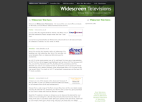 widescreentelevisions.co.uk
