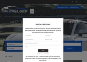 wideworldautos.com