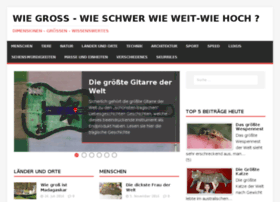 wie-gross.com