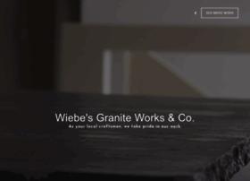 wiebesgranite.com