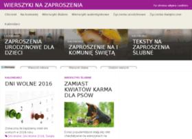 wierszykinazaproszenia.pl
