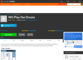 wiiplaythedrums.sourceforge.net