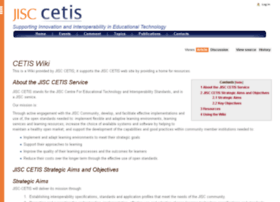 wiki.cetis.ac.uk