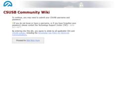 wiki.csusb.edu