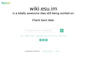 wiki.esu.im