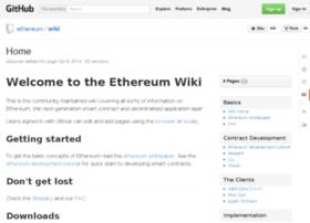 wiki.ethereum.org