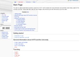 wiki.hatii.arts.gla.ac.uk