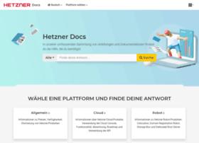 wiki.hetzner.de