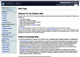 wiki.hotdocs.com