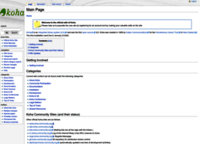 wiki.koha-community.org