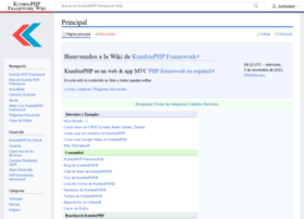 wiki.kumbiaphp.com