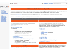 wiki.lantronix.com