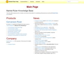 wiki.marketruler.com