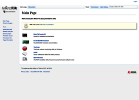 wiki.mikrotik.com