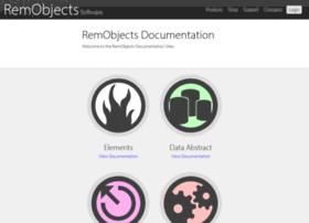 wiki.remobjects.com