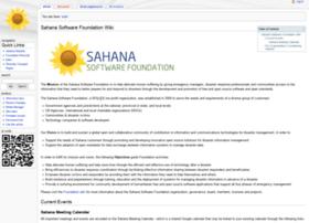wiki.sahanafoundation.org