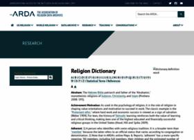 wiki.thearda.com