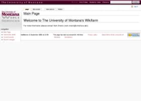 wiki.umt.edu